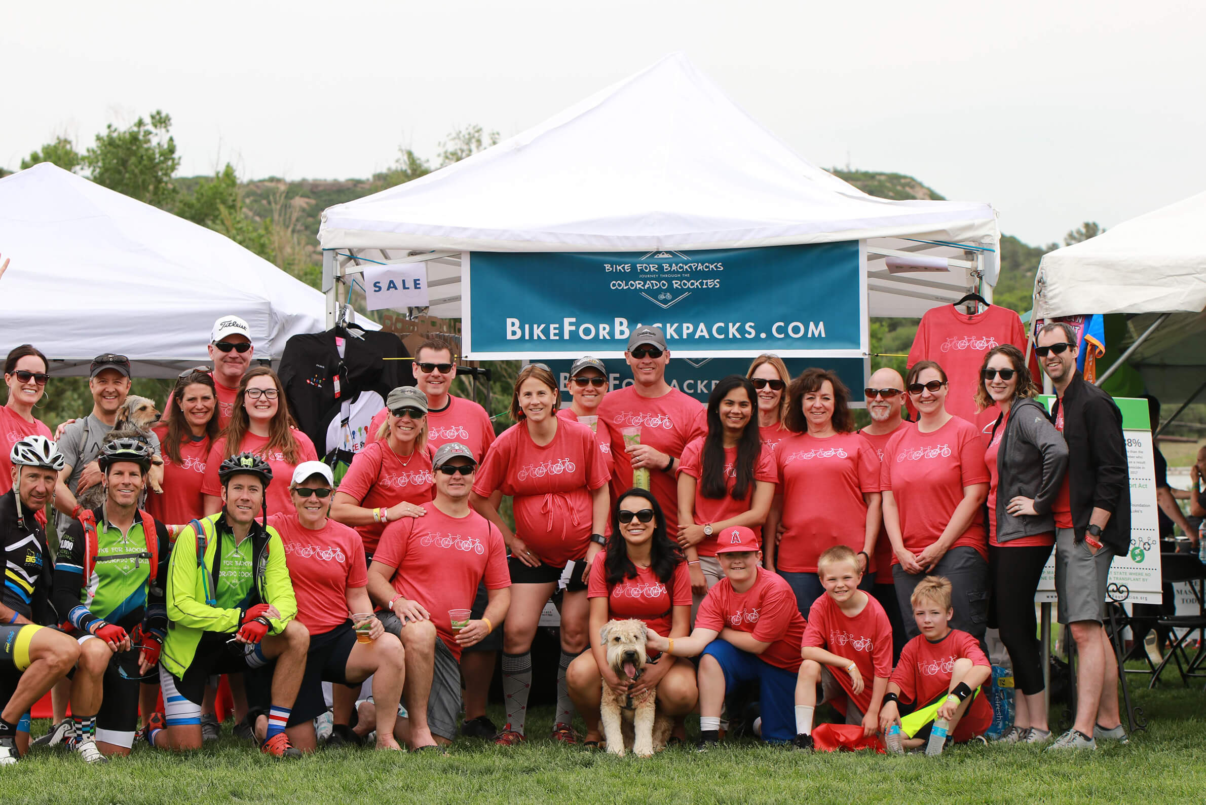 Our team at The CE Shop Foundation will be riding and volunteering at the 2019 Elephant Rock on June 2nd to eliminate childhood hunger.